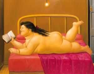 Botero, Donna che legge